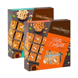 Almond & Cashew Nutty Delight Combo Pack